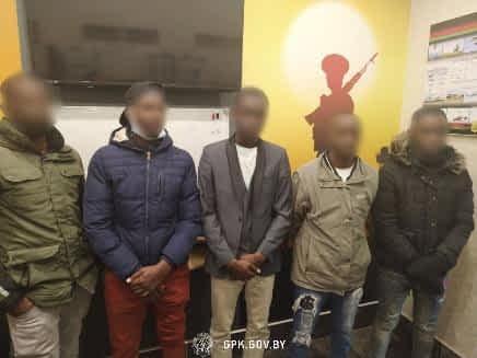 Очередная группа нелегальных мигрантов задержана гродненскими пограничниками