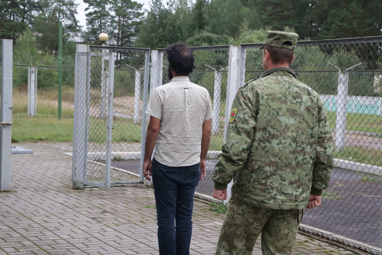 Гражданин Ирака пытался нелегально попасть в Литву