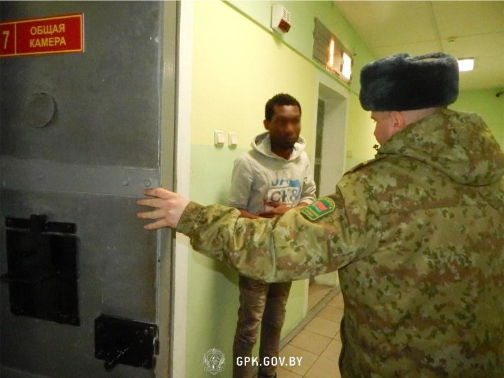 Четверо африканцев задержаны на границе с Польшей
