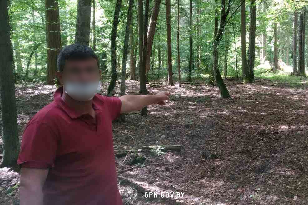 Нелегал из Турции хотел под видом рыбака через Беловежскую пущу попасть во Францию